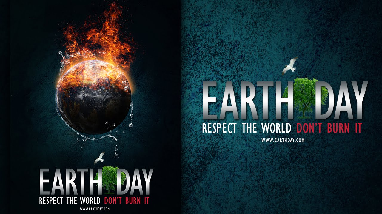 Poster design using photoshop - Make A Earth Day Poster In Photoshop