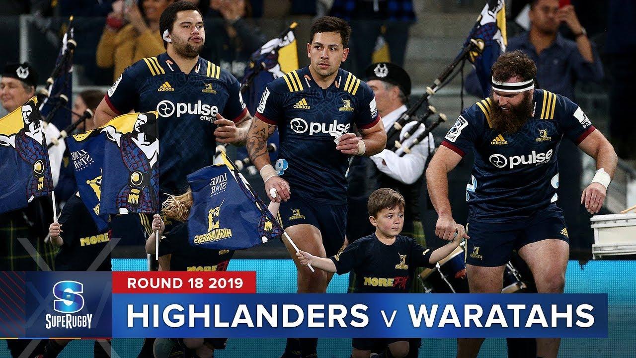 Highlanders v Waratahs | Super Rugby 2019 Rd 18 Highlights