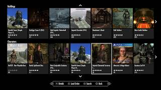 Skyrim Remastered - PS4 - Mods Review 22 - Characters