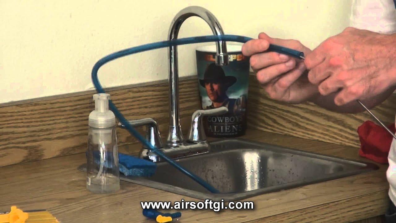 how to clean platypus bladder