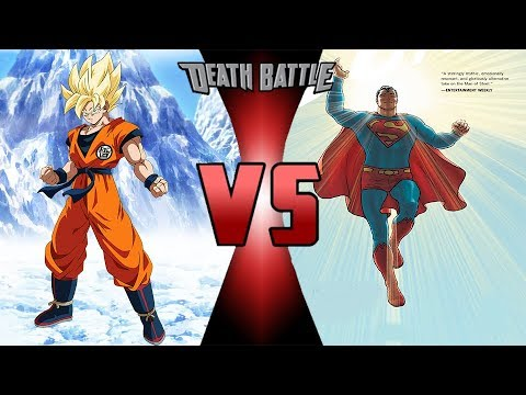 All Versions Of Superman VS All Versions Of Goku part 2