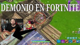 Demon in FORTnite REAL Demon on video of lolito fdez