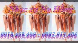 Cửa hàng bán chuông gió phong thủy bằng tre gỗ 0982013406 cô ánh