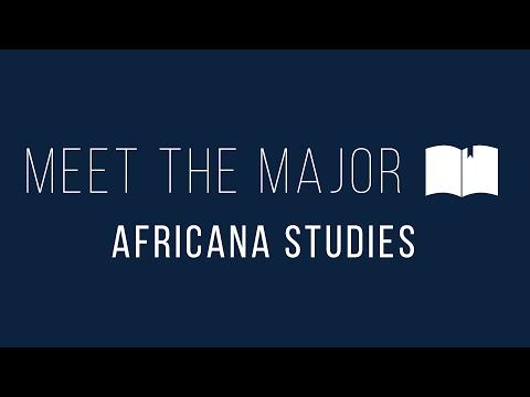 Meet The Major: Africana Studies