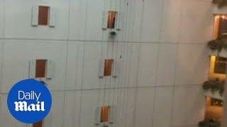 Hokkaido hotel SWAYS as 6.7 quake rocks northern Japan