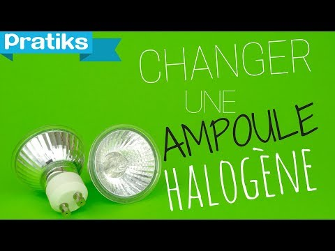 Comment changer une ampoule halog ne youtube - Comment changer un skimmer ...