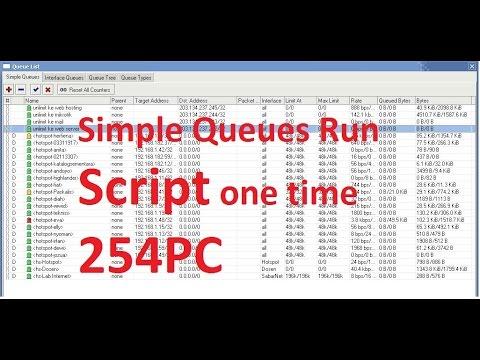 Mikrotik Script for add IP 253 queues by 1m Speak Khmer