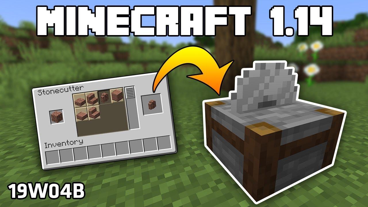 Minecraft 1.14 - Snapshot 19w04b: FUNKČNÍ STONECUTTER ...