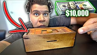 Open This BOX To Win $10,000 (IMPOSSIBLE PUZZLE CHALLENGE)