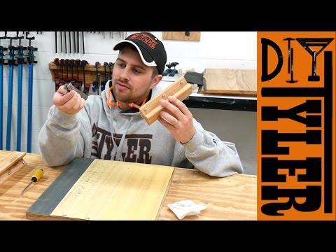 D2D DIY How to Sharpen Jointer / Planer Knives | Deulen Method