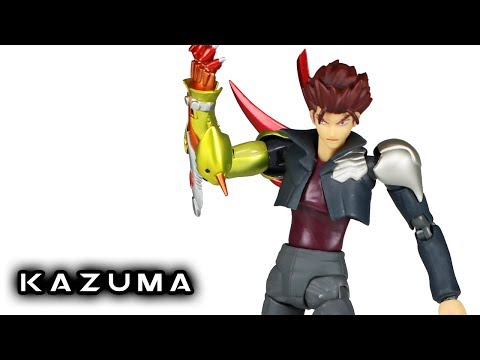 S.H. Figuarts KAZUMA S.CRY.ed Action Figure Toy Review