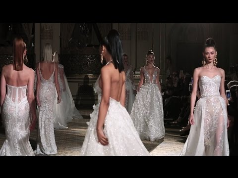 BERTA S/S 2018 Bridal Collection - NY Runway Show