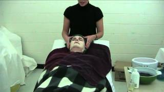 Applying Paraffin Wax for a Facial
