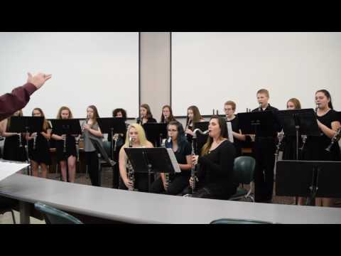 Turkey in the Straw arranged by Resnick Kingsford High School Clarinet Choir at state