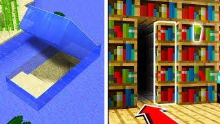 TOP 5 SECRET BASES You Can Make in Minecraft TUTORIAL!