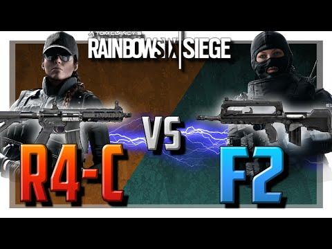 Ash's R4-C vs Twitch's F2   Rainbow Six Siege