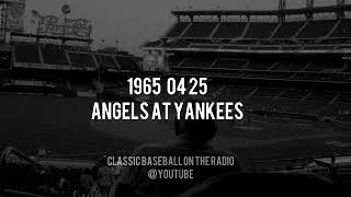 1965 04 25 California Angels at Yankees