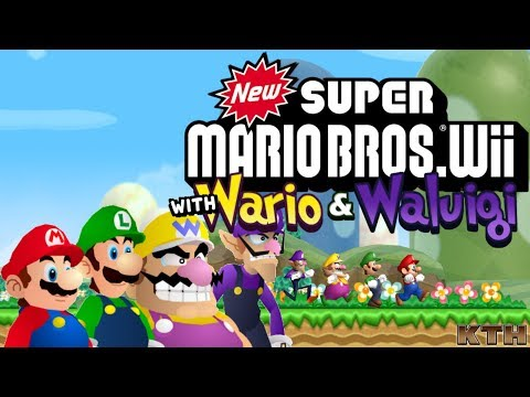Wario & Waluigi for New Super Mario Bros. Wii over Blue/Yellow Toad Release