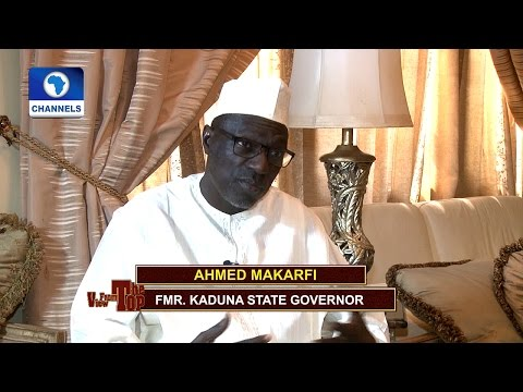 Ahmed Makarfi Speaks On The Southern Kaduna Killings