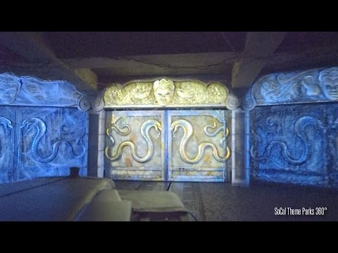 Full Indiana Jones Ride 2015 - New Effect - Chamber of Earthly Riches - Disneyland
