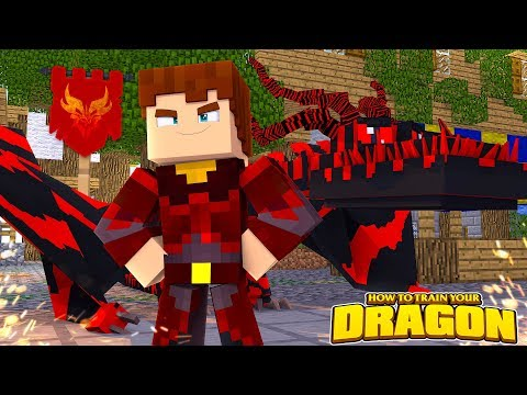 SCUBA STEVE JOINS THE FIRE NATION!? - How To Train Your Dragon