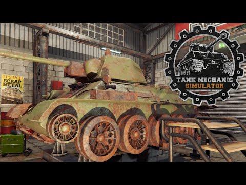 Tank mechanic simulator demo