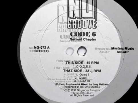 Code 6 - Quad II - NU Groove Records US 1991