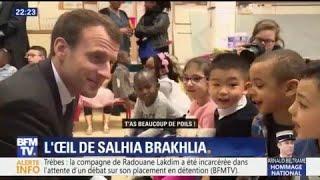 L'oeil de Salhia Brakhlia : Quand Emmanuel Macron se fait clasher par des enfants de 4 ans...