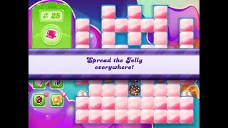 Candy Crush Jelly Saga Level 944 (3 star, No boosters)