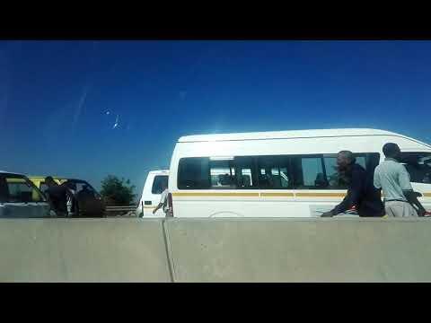 Taxi blockade N3 north Johannesburg