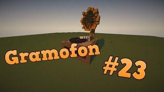 Gramofon w Minecraft | Pomysł na budowlę [#23]