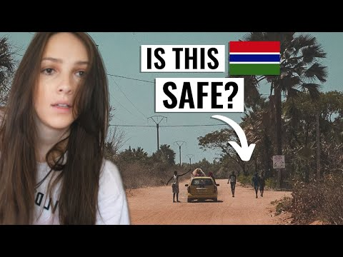 Is The Gambia SAFE? (I didn't expect this) | Africa Travel Vlog