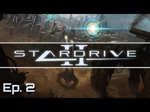 Stardrive 2 - Ep. 2 - The Derelict Ship! - Let's Play - Rele