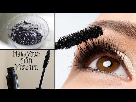 DIY Homemade Mascara | 24 hrs Smudgeproof, Waterproof, Long lasting | 100% Natural
