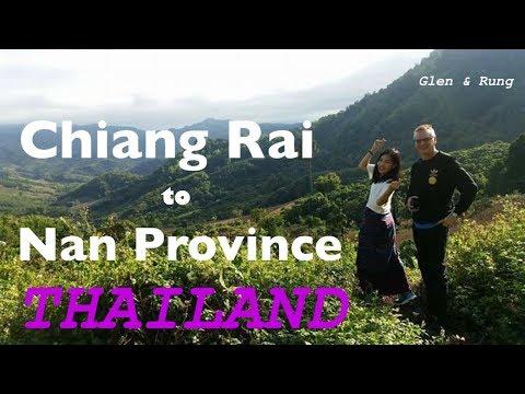 Road Trip From Chiang Rai to Nan Province