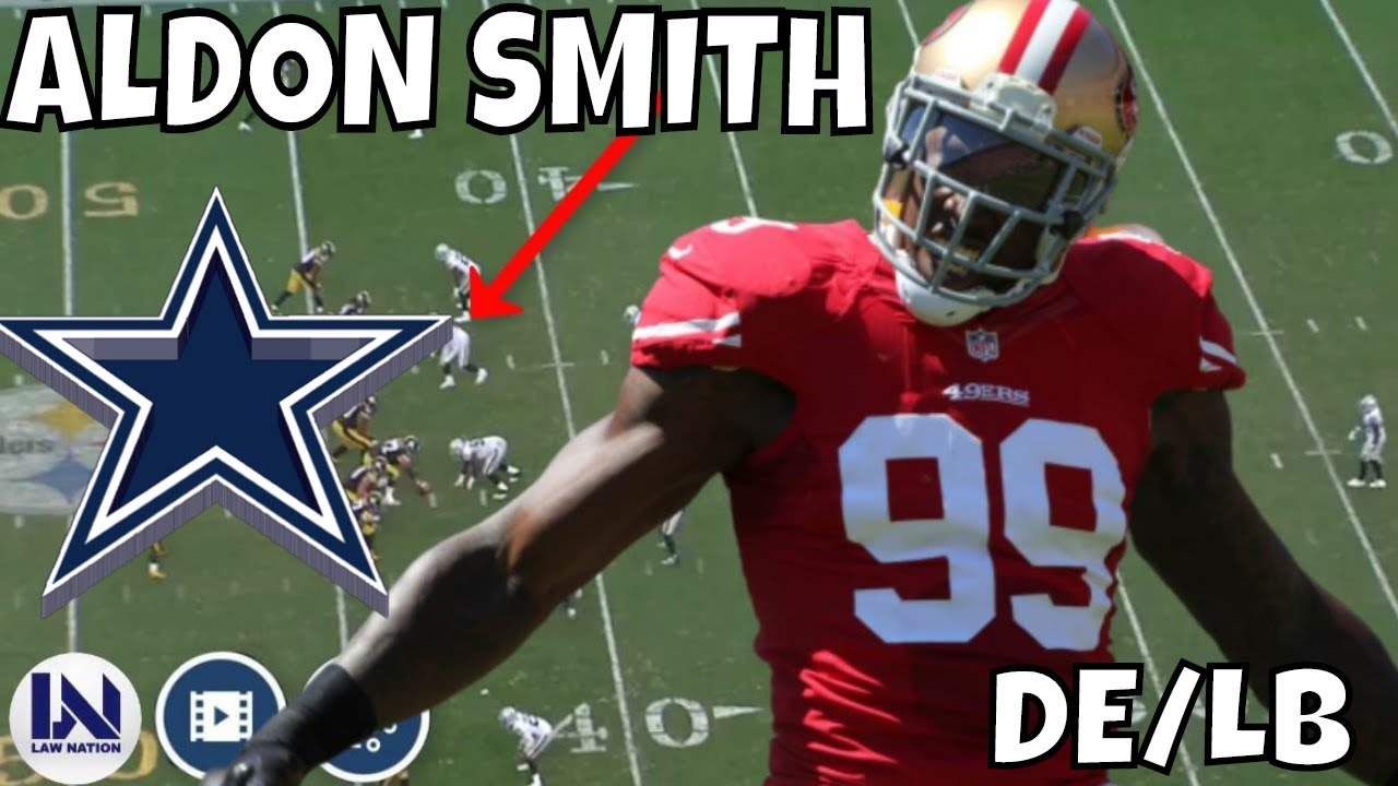 Cowboys' Aldon Smith 'grateful' to be reinstated by NFL