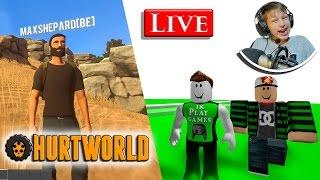 Roblox speedrun 6 NL & Hurtworld NL stream met Albert