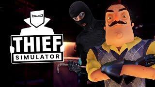 Nachbarn sind Zuhause? WAS SOLL DAS? - Thief Simulator #4