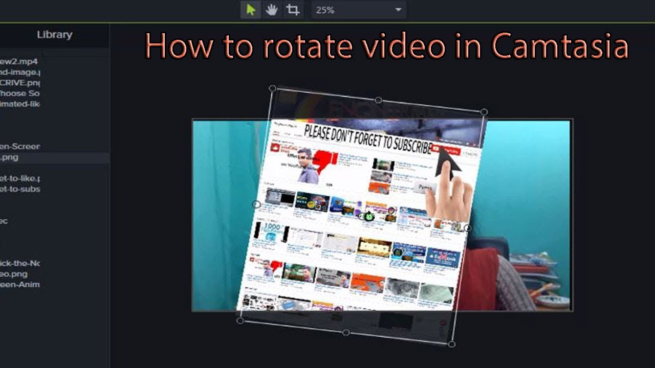 How to rotate video in camtasia youtube how to rotate video in camtasia ccuart Gallery
