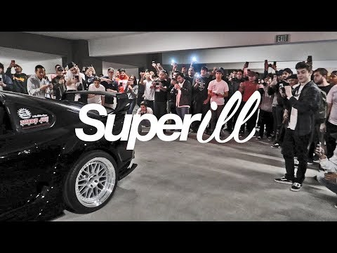 The Craziest Car Meet in California | SuperiLL 2017