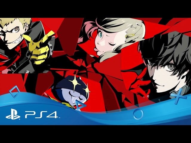 Persona 5   PSX 2016 Story Trailer   PS4
