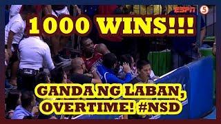 Ang LARONG Maraming DUNKS pero DINAIG ng SWABENG LAYUPS | Ginebra,1000 Wins! | Never Say Die!
