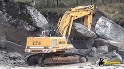 Old Liebherr 974 Excavator But Very Strong