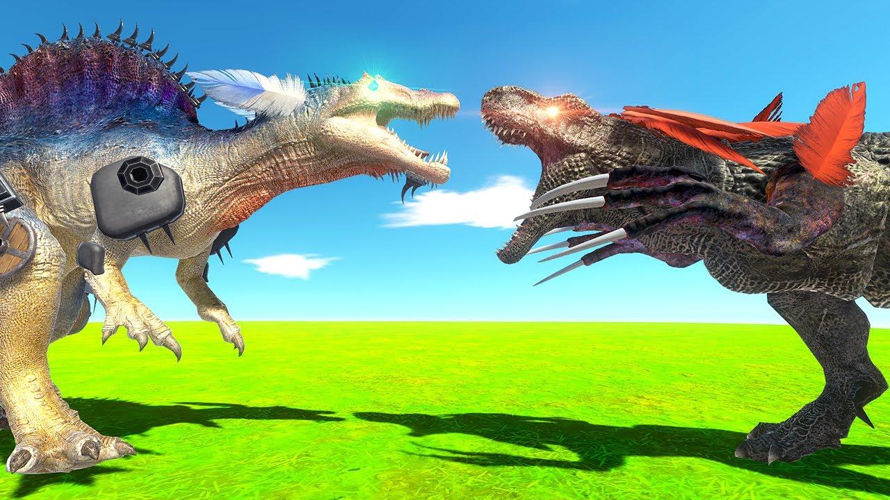 DINOSAUR Pets Fight to the DEATH - Animal Revolt Battle Simulator