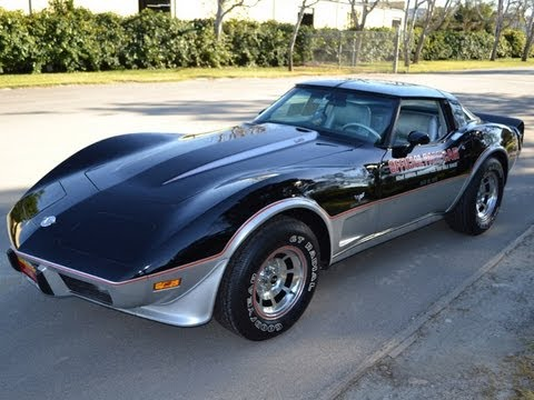 sold 1978 corvette pace car l82 with 14 miles for sale by corvette mike youtube. Black Bedroom Furniture Sets. Home Design Ideas