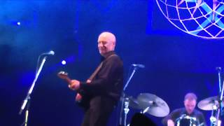 Wilko Johnson machine gunning the Fuji Rock audience on the Field o...