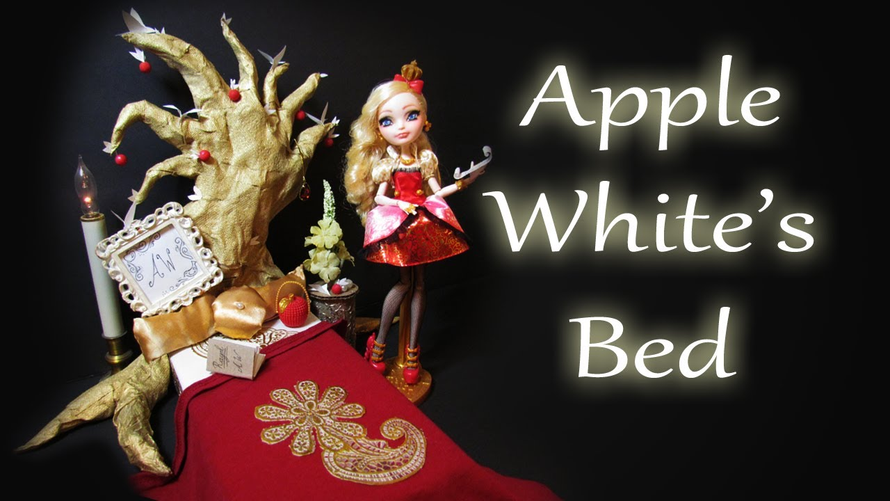 How To Make Apple White S Bed Ever After High Youtube