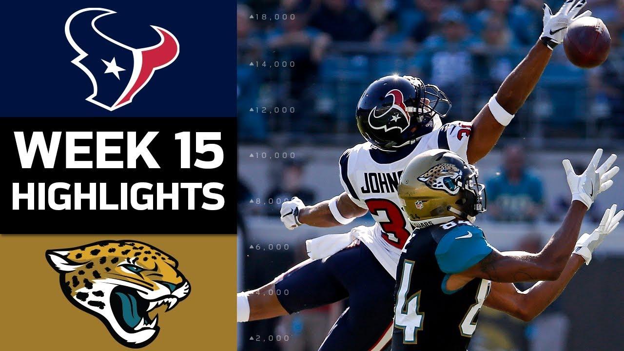 Nice Texans Vs. Jaguars | NFL Week 15 Game Highlights