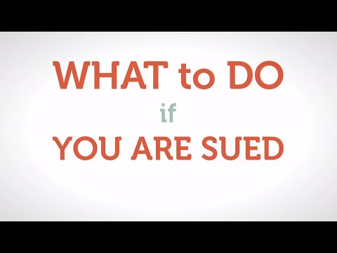 I've Been Sued in a Debt Collection Case | Michigan Legal Help