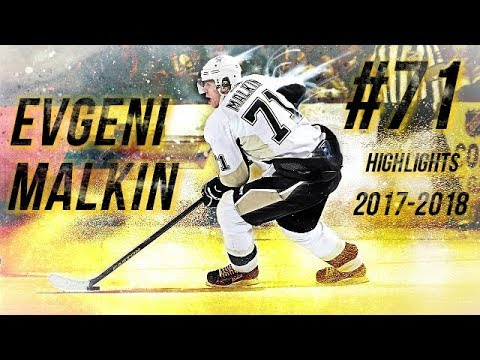 EVGENI MALKIN HIGHLIGHTS 17-18 [HD]